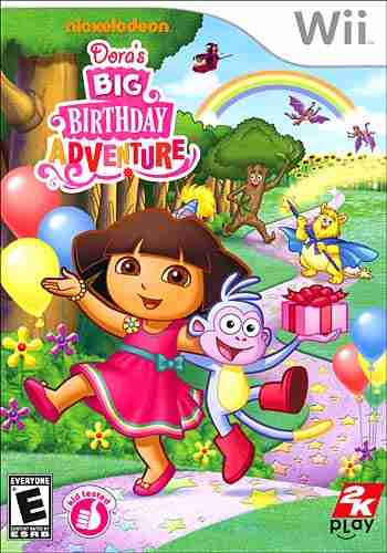 Descargar Dora The Explorer Doras Big Birthday Adventure [English][WII-Scrubber] por Torrent